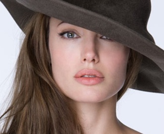 hat angelina jolie