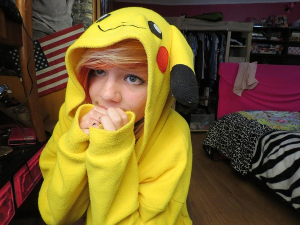 New Kigurumi Pajamas Anime Cosplay Costume unisex Adult Onesie Pokemon Pikachu | eBay  sc 1 st  Where To Get It & New Kigurumi Pajamas Anime Cosplay Costume unisex Adult Onesie ...