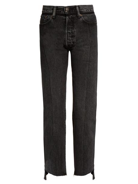 Vetements jeans black