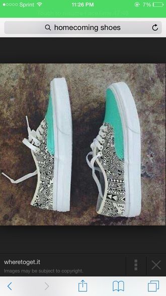 shoes tiffinay blue cool design vans stylish