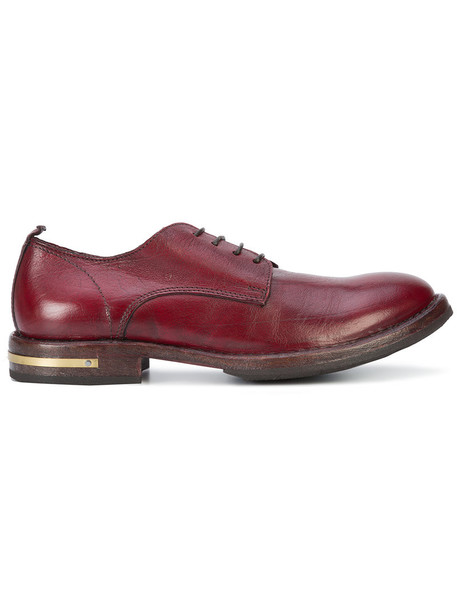 Moma women shoes leather red