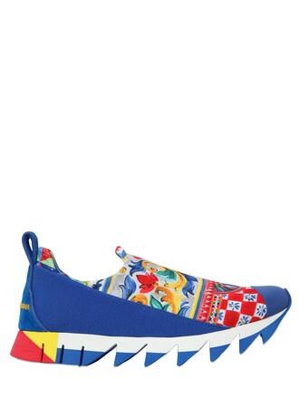 suede sneakers sneakers suede neoprene blue shoes