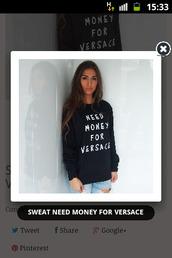 hoodie,versace