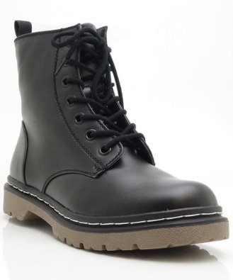 Amazon.com: Soda Grunge-S Lace Up High Top Boots: Shoes