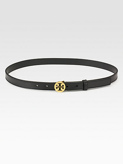 Tory Burch - Signature Skinny Belt - Saks.com