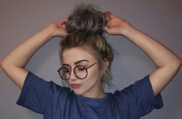 Sunglasses: hippie glasses, nerd glasses, tumblr, tumblr ...