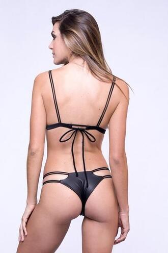 swimwear bikini bottoms black cheeky dbrie skimpy bikiniluxe