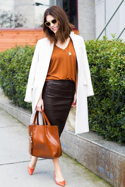 maritsa t-shirt skirt coat bag shoes sunglasses jewels