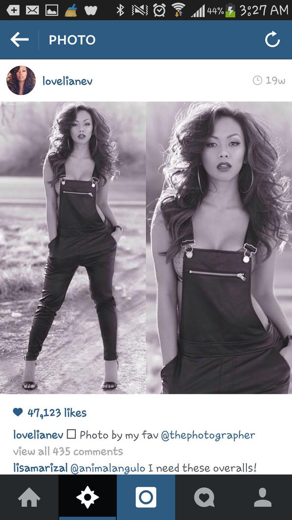 pants liane v photography black overalls