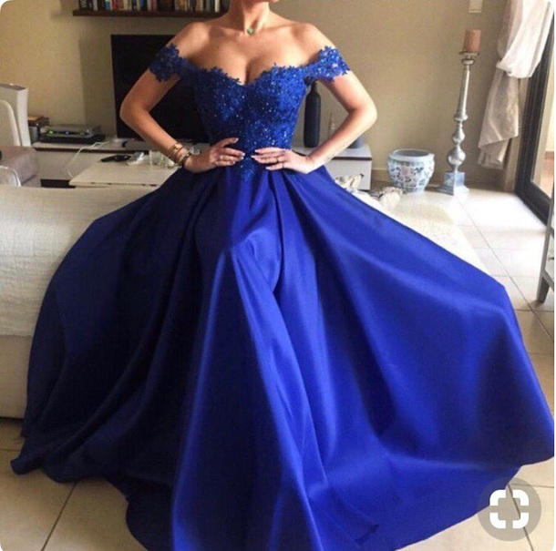 dress prom royal blue royal blue dress pretty heels off the shoulder off the shoulder dress dances formal