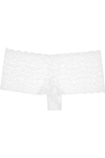 Hanro lace white underwear