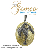 jewels,birds,pendant,jewelry,fashion,silver pendant,diamond pendant necklace\,gemco,gemco international,supplier