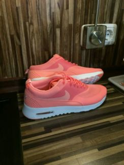 Nike air max thea atomic pink koralle rosa pink hot punch