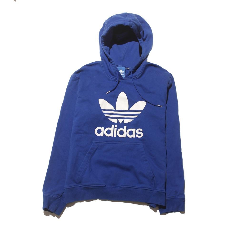 5daaa9287894 Adidas Royal Blue Hoodie - Medium