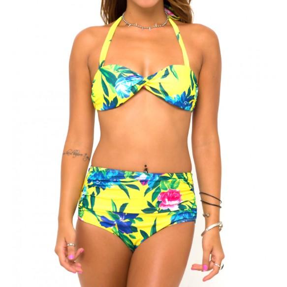 Aloha Bikini Set at Style Moi