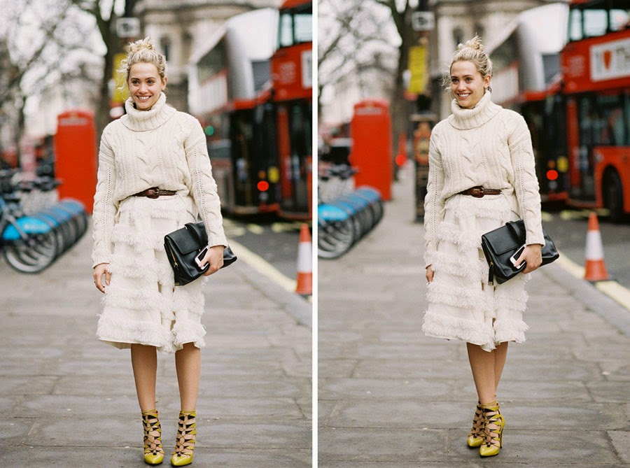 Vanessa Jackman: London Fashion Week AW 2014....Laurel