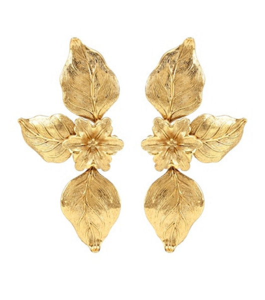 Jennifer Behr Dolcina earrings in gold