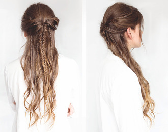 the fashion fraction blogger hairstyles summer beauty braid