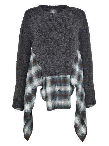 Dsquared2 jumper layered sweater