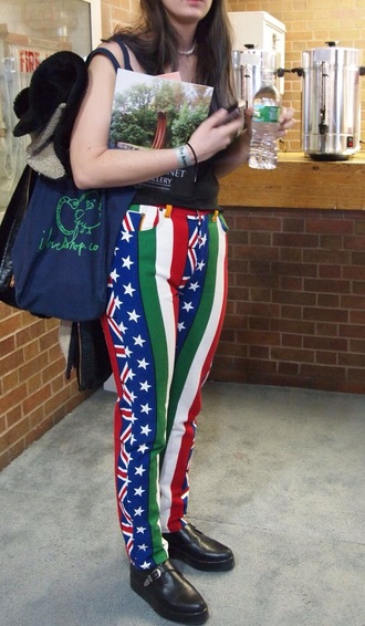 pants jeans skinny jeans colorful grunge top countries flags america italy the uk bag style hip cool nice look buy