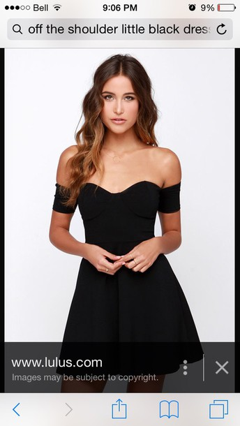 dress little black dress with sweetheart neckline black dress short dress off the shoulder dress little black dress short black dress