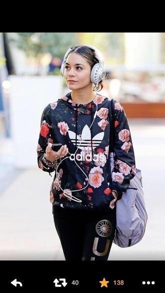 jacket adidas adidas classics adidas sweater vanessa hudgens adidas floral blouse