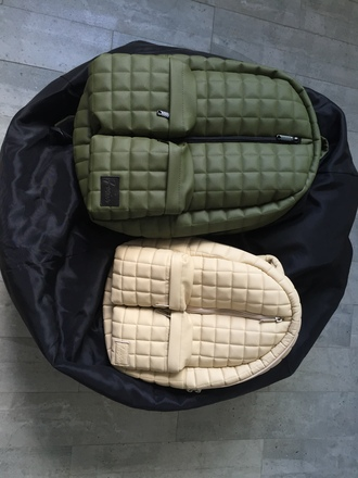 bag khaki quilted bacpack quilted bag quilted womens quilted backpack milky beige khaki khaki backpack beige backpack leather backpack