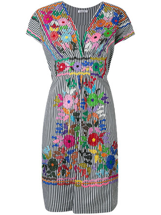 dress embroidered dress embroidered women spandex cotton black