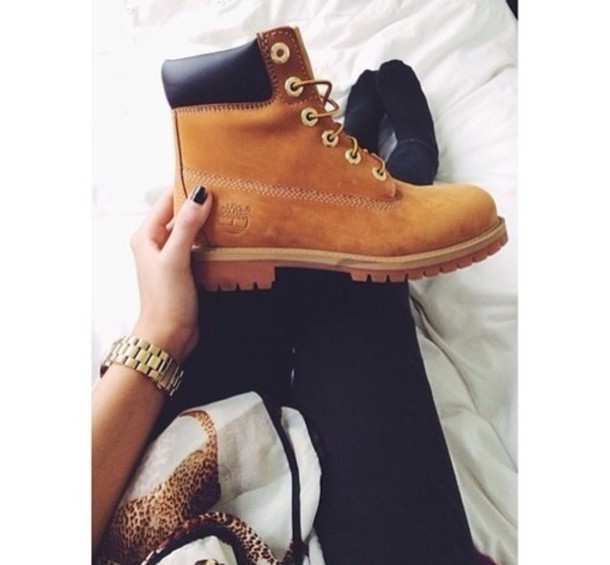 shoes boots brown camel timberland boots shoes timberlands girls sneakers  winter boots