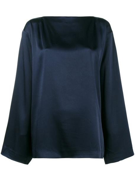 Haider Ackermann blouse women blue top