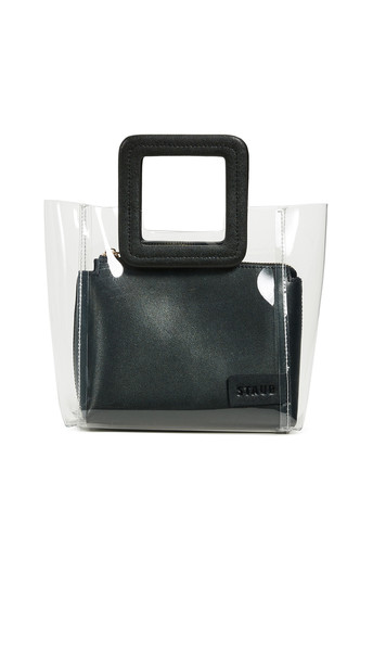 STAUD Mini Shirley Bag in black
