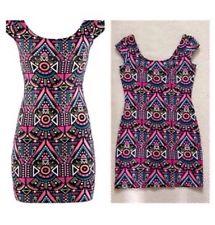 Aztec H&M Bodycon Dress Size UK 8 BNWT | eBay