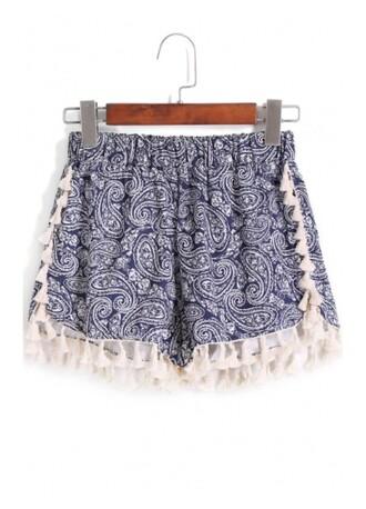 shorts girl girly girly wishlist mini shorts printed shorts blue and white