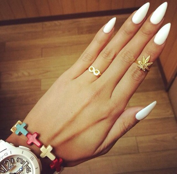 nail polish nails jewels