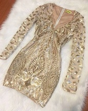 dress,gold dress,embellished dress,party dress,cocktail dress