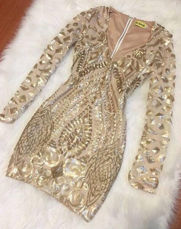 dress gold dress embellished dress party dress cocktail dress