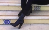 shoes,black,ankle boots,booties,boots,black boots