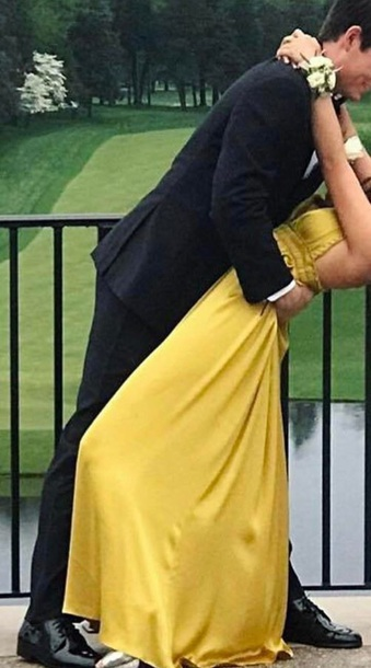 Dress Marigold Mustard Dress Prom Dress Prom Yellow Yellow
