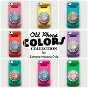 jewels,fashion,iphone case,colorsful,girly,vintage