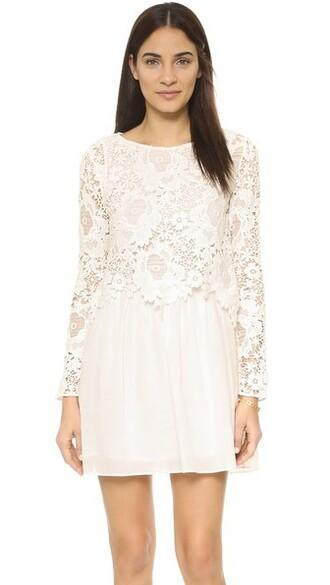dress long sleeve dress long lace