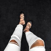 shoes,jeffrey campbell,nastygal,flats,scallopped,black leather,leather,laces,lace up,prudence flat