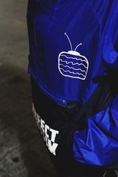 jacket,blue,navy,windbreaker