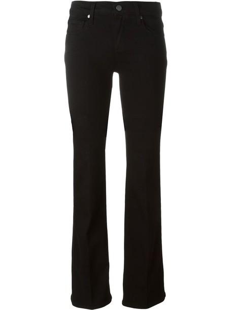 Paige jeans women spandex cotton black 24