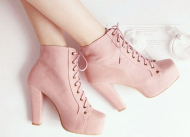 4ae2df598e52 Baby Pink High Heels - Shop for Baby Pink High Heels on Wheretoget