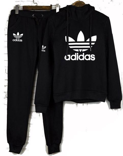 d0e8f86eaa7 jumpsuit adidas adias logo adidas logo top adidas black adidas s port suit  adidas logo tracksuit