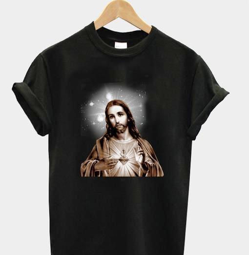 Jesus Art tee Tshirt gift adult unisex custom clothing
