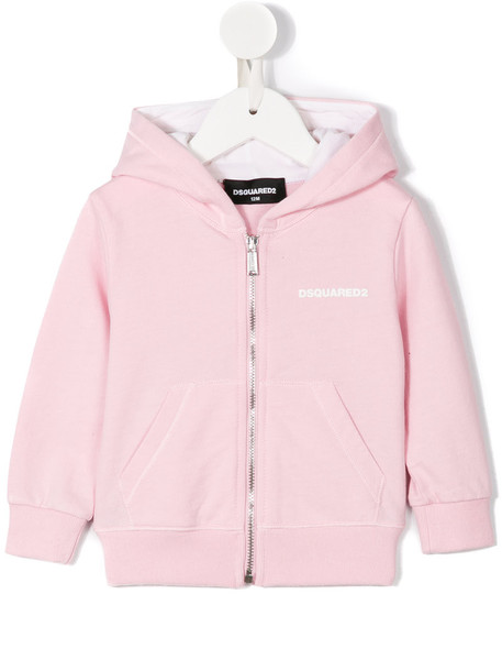 Dsquared2 Kids hoodie cotton purple pink sweater