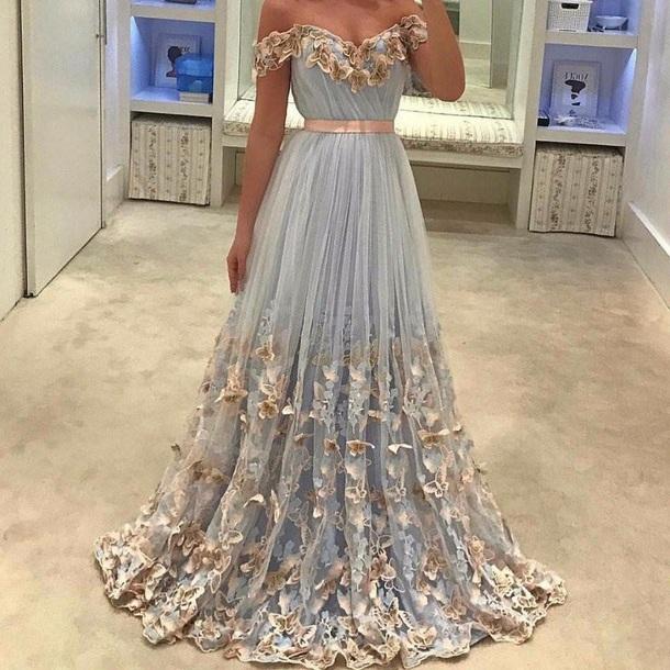 dress gown formal dress