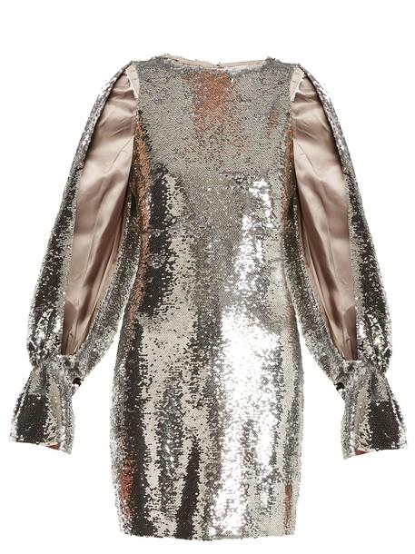 Osman dress embellished dress embellished silver