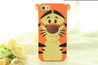 tiger phone cover iphone iphone cover iphone 5 case cute